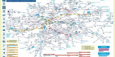 praha kart Praha kart   Kart Praha (Slovakia   Tsjekkia)